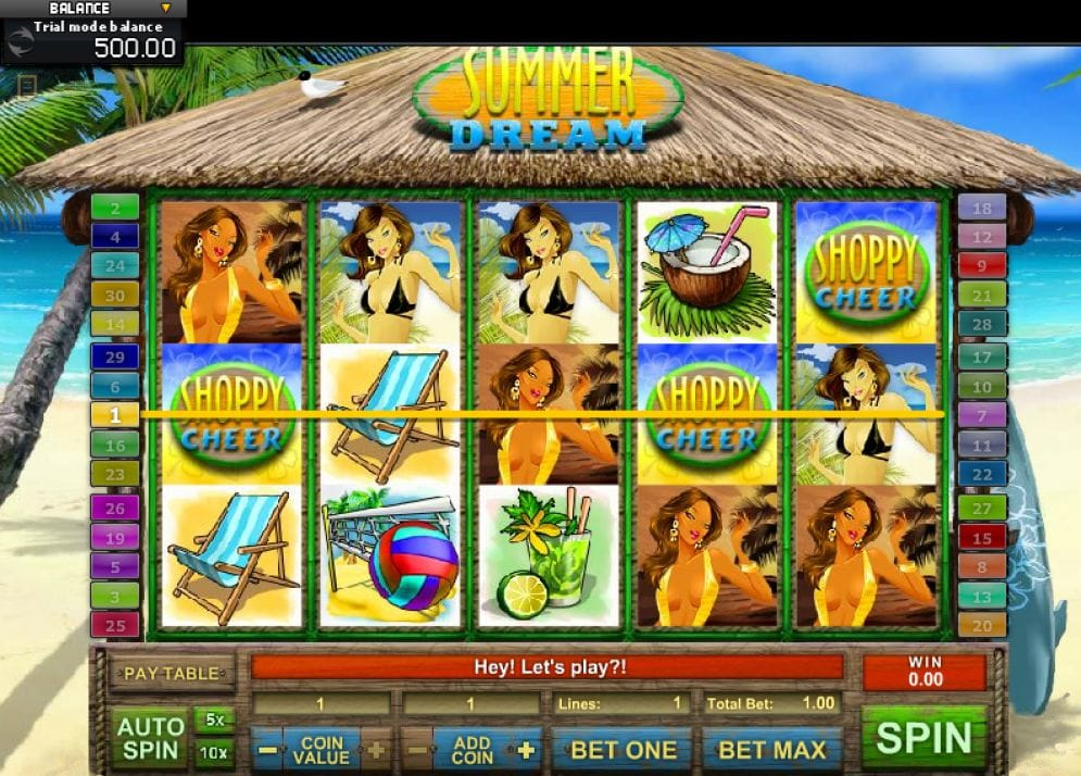 Summer Dream Casinospiel kostenlos