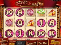 Sweets & Spins Spielautomat