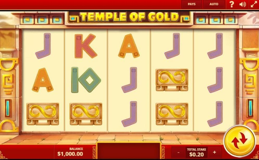 Temple of Gold Spielautomat