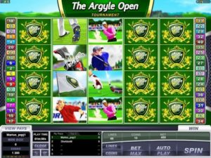 The Argyle Open Tournament Automatenspiel kostenlos