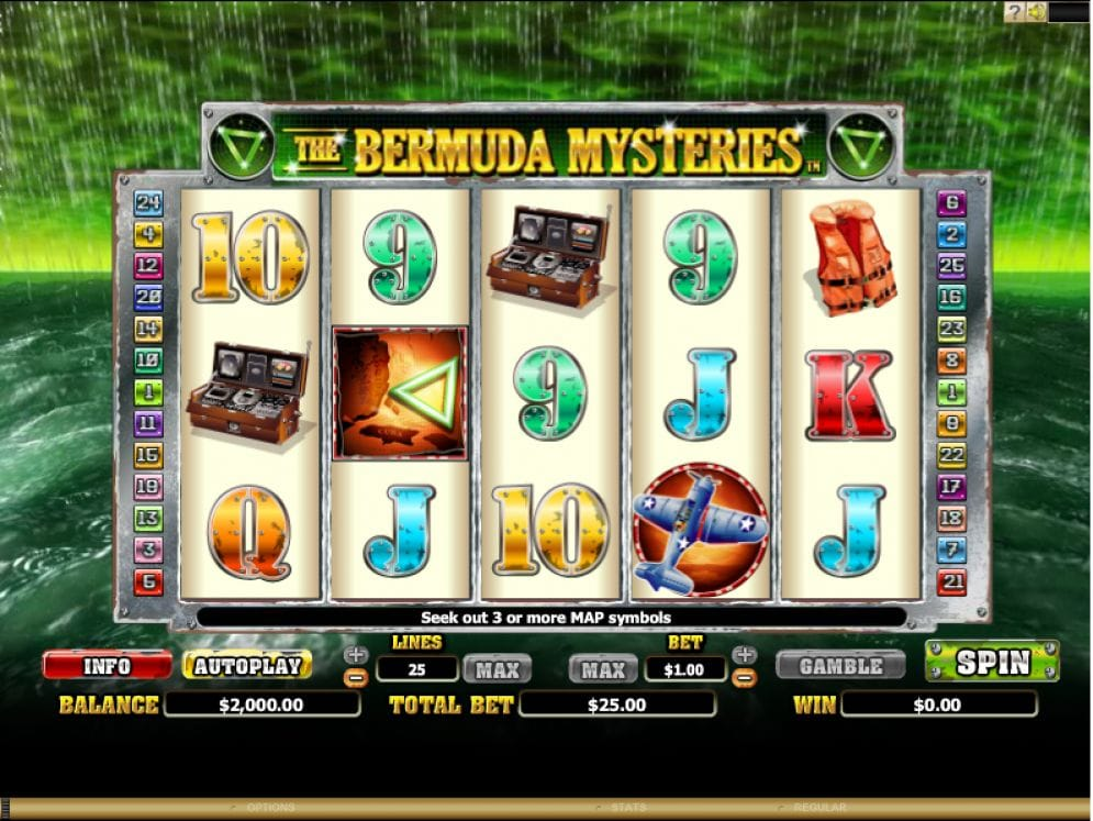 The Bermuda Mysteries Casinospiel