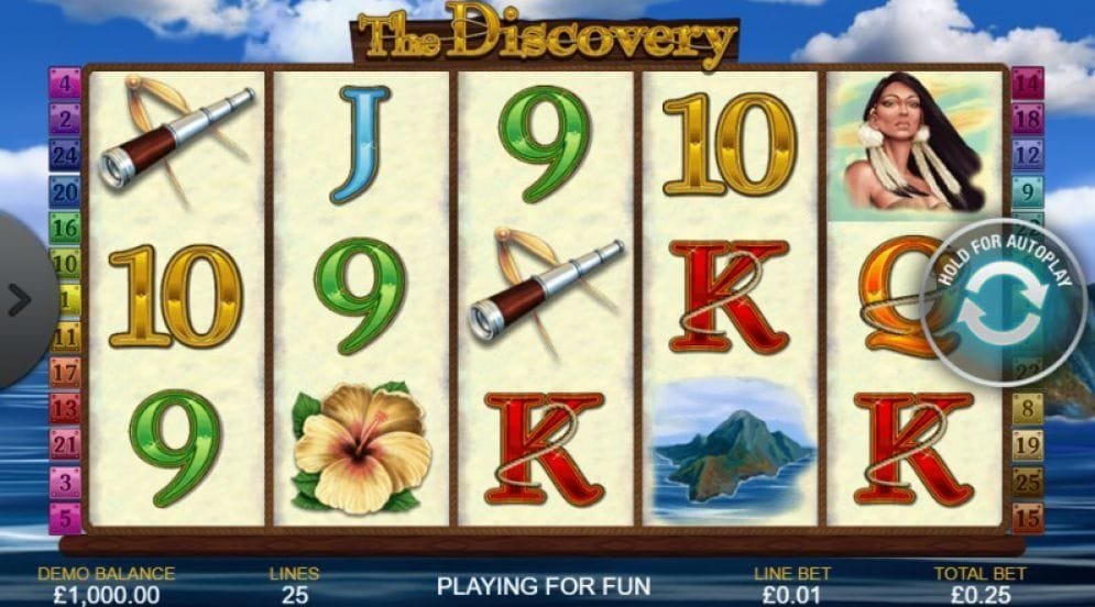 The Discovery online Slotmaschine