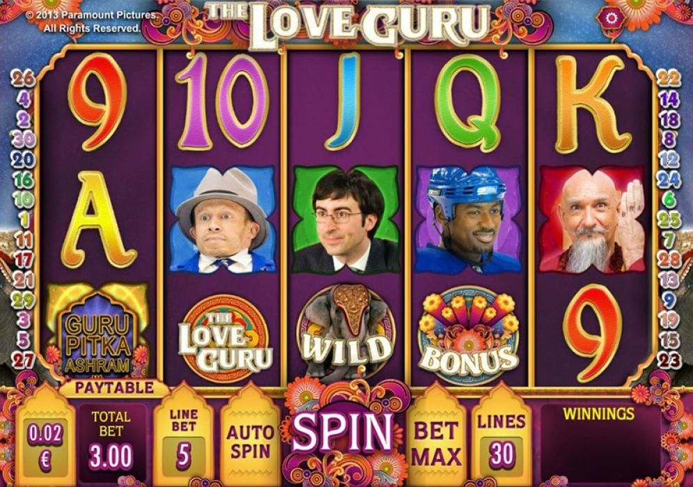 The Love Guru Spielautomat