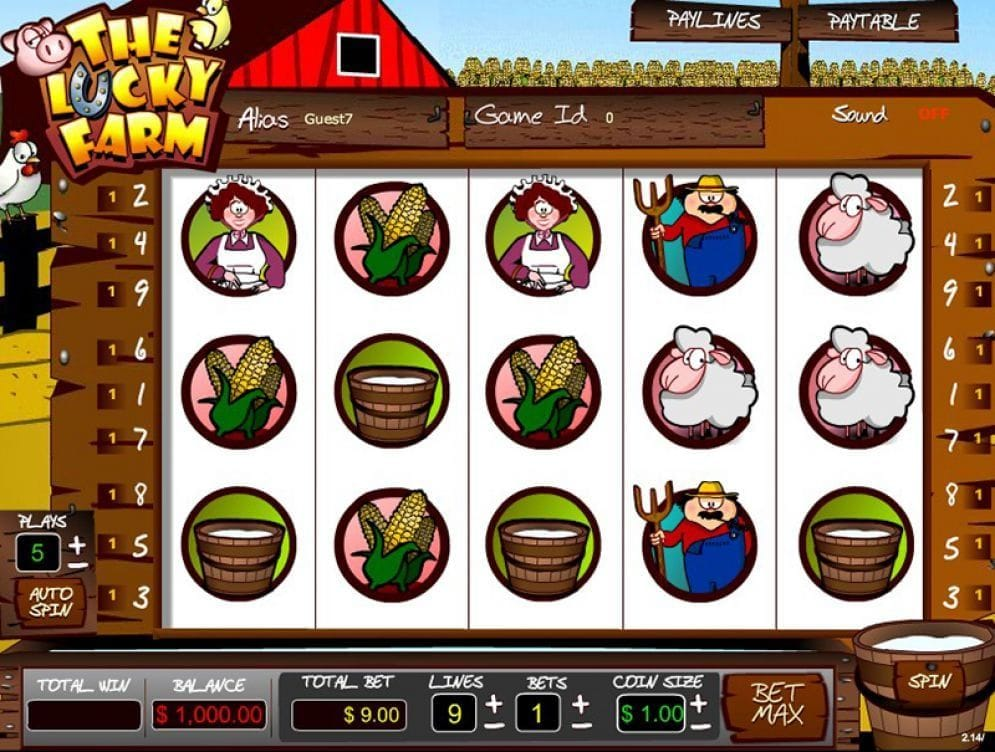The Lucky Farm online Geldspielautomat