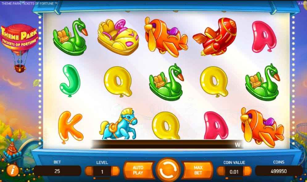 Theme Park: Tickets of Fortune online Slotmaschine