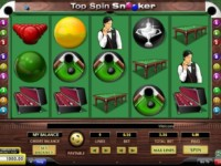 Top Spin Snooker Spielautomat