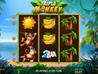 Triple Monkey Spielautomat