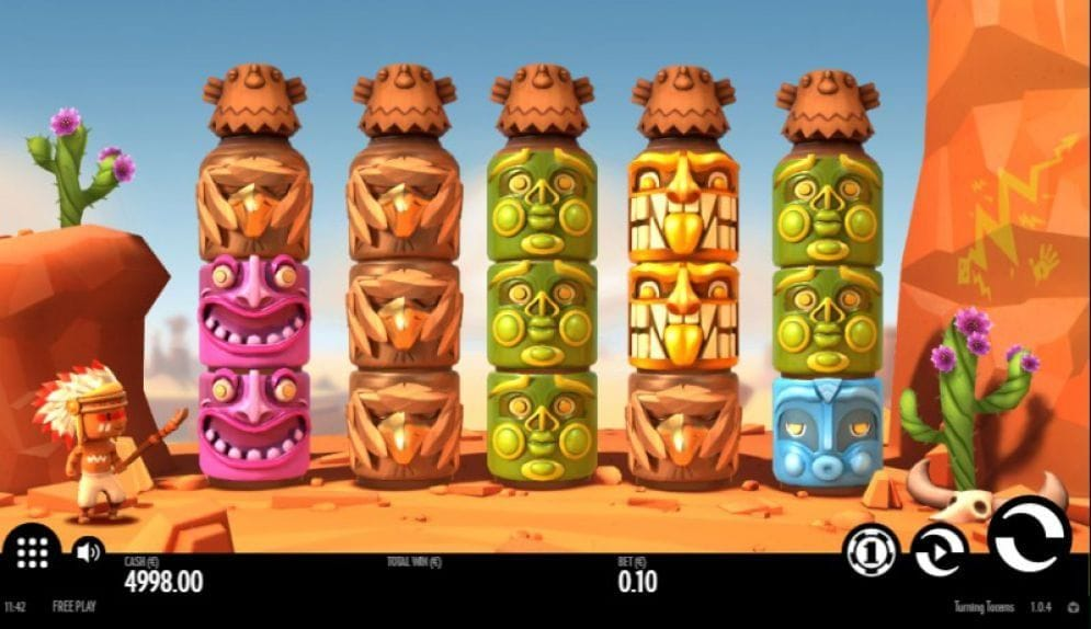 Turning Totems online Video Slot