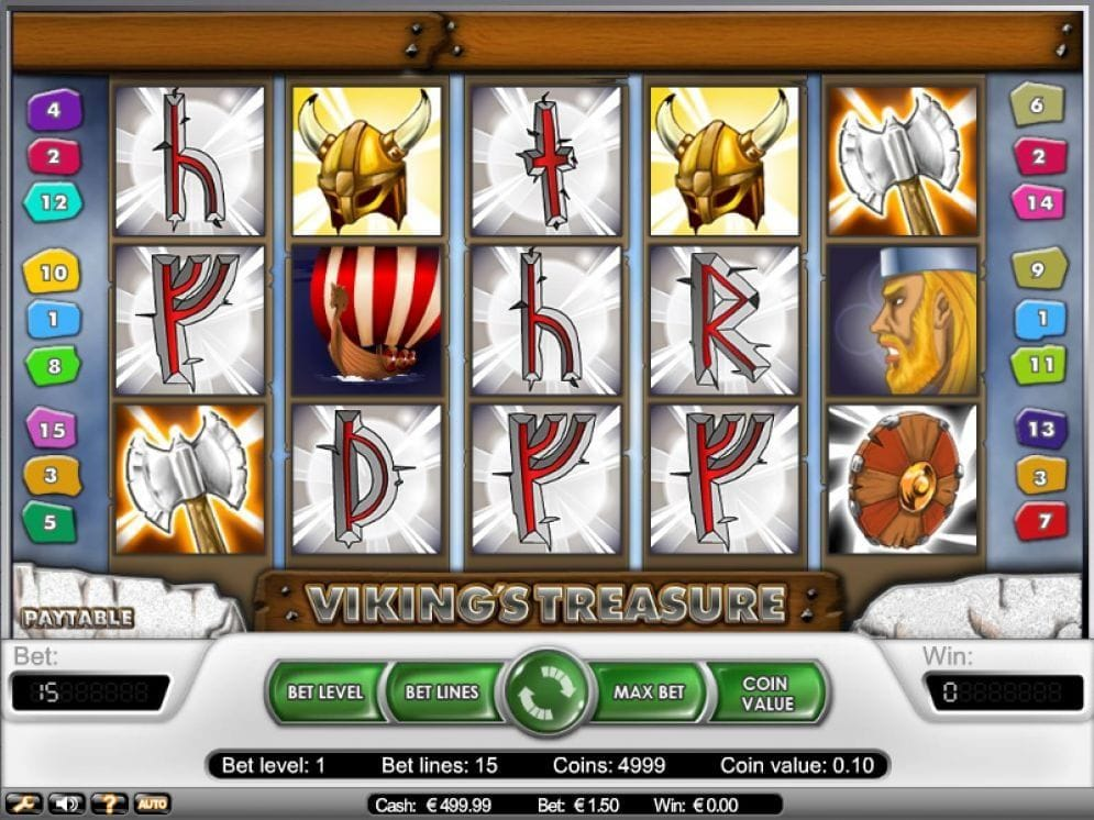 Viking's Treasure online Casino Spiel