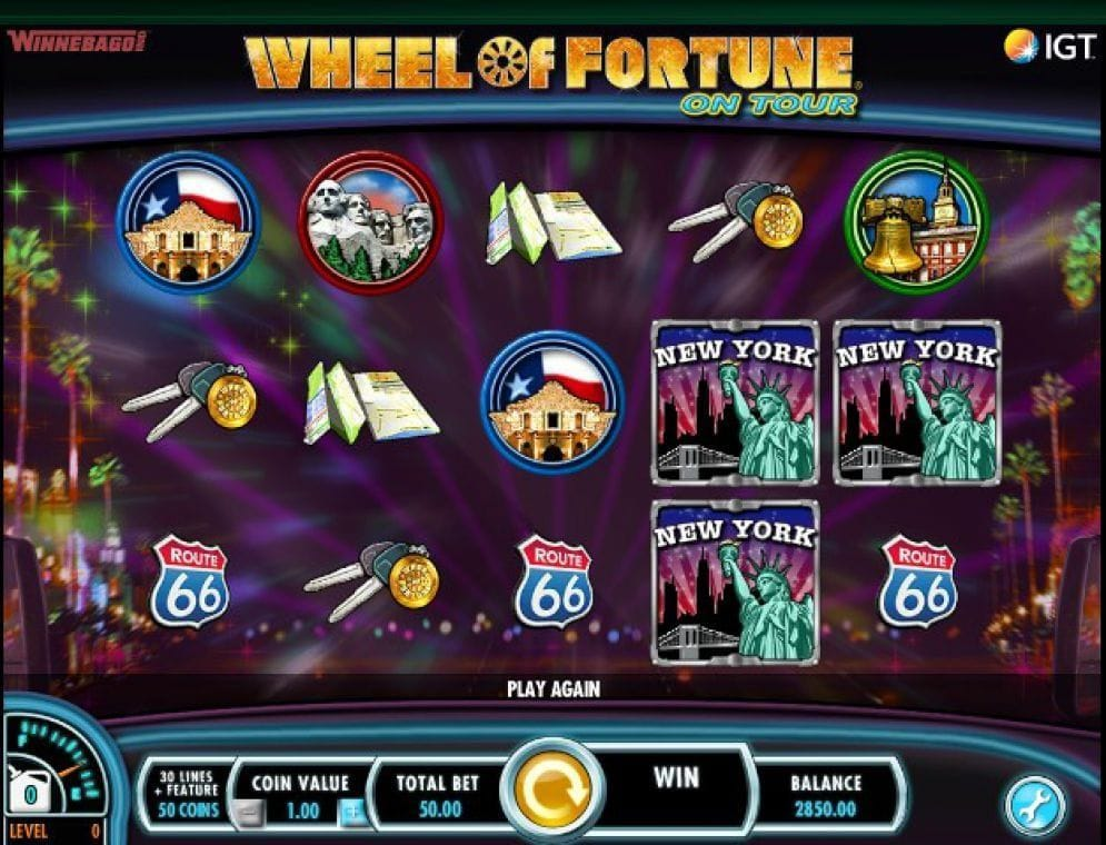 Wheel of Fortune: On Tour Casino Spiel