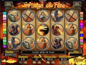 Wings of Fire Slotmaschine ohne Anmeldung