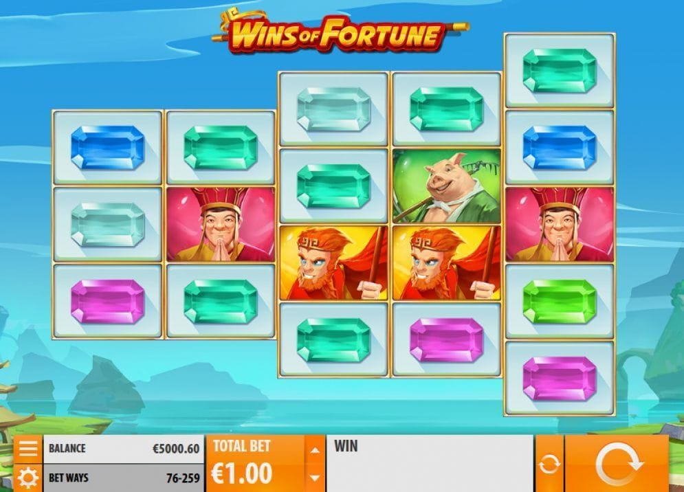 Wins of Fortune Video Slot