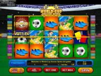 World-Cup Soccer Spins Spielautomat